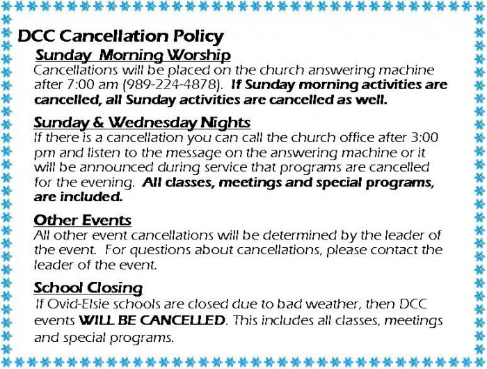 Cancellation Policy 2013-2014 pic for the website
