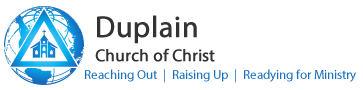 Duplain Church of Christ | St. Johns, Michigan Logo